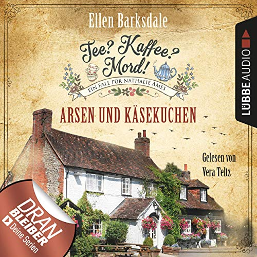 Arsen und Käsekuchen audiobook cover art