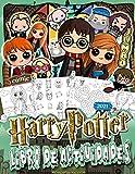 Harry Potter Libro De Actividades: Harry Potter 2021 Para Niños Y Adultos: El Mundo Mágico De Las Tareas Inteligentes Y La Relajación Divertida(Edición De Lujo No Oficial)