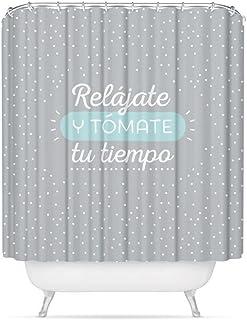 """dcasa - Cortina de baño original diseño frase """""""
