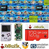 TAPDRA 128 GB Retropie Emulation Station SD Card for Your GPi Case Raspberry Pi Zero 14000+ Games FC NES SNES GBA PS NEOGEO Atari Lynx