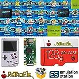 TAPDRA 128 GB Retropie Emulation Station SD Card for Your GPi Case Raspberry Pi Zero 14000+ Games FC NES SNES GBA PS NEOGEO Atari Lynx
