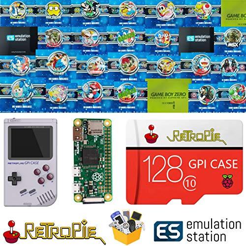 TAPDRA 128GB Retropie Emulation Station SD Karte für Ihr GPi Case Raspberry Pi Zero 14000+ Spiele