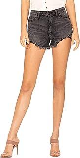 Miss Me H2194SH Black High Rise Cut Off Shorts