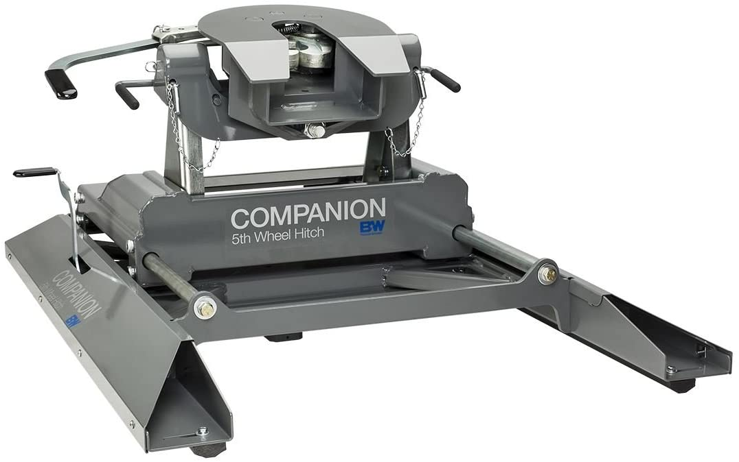 BW Companion Miami Mall Slider Luxury 5th Wheel Hitch Trailer Adapte Gooseneck RV
