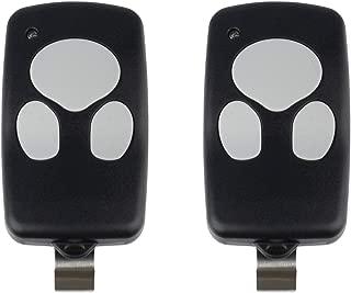 2 Garage Door Remotes for Wayne Dalton (372310 3973C 300643 309884 297134)