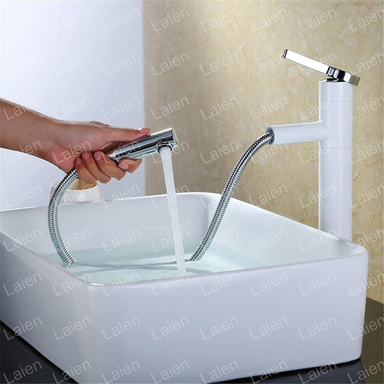 AOEIY Wasserhahn Küchen Mischbatterie Rotationsmischen mit Kupferzug Waschtischarmaturen Mixer Spültisch Armatur Bad Spülbecken Spültischbatterie badezimmer Küchenarmatur Edelstahl