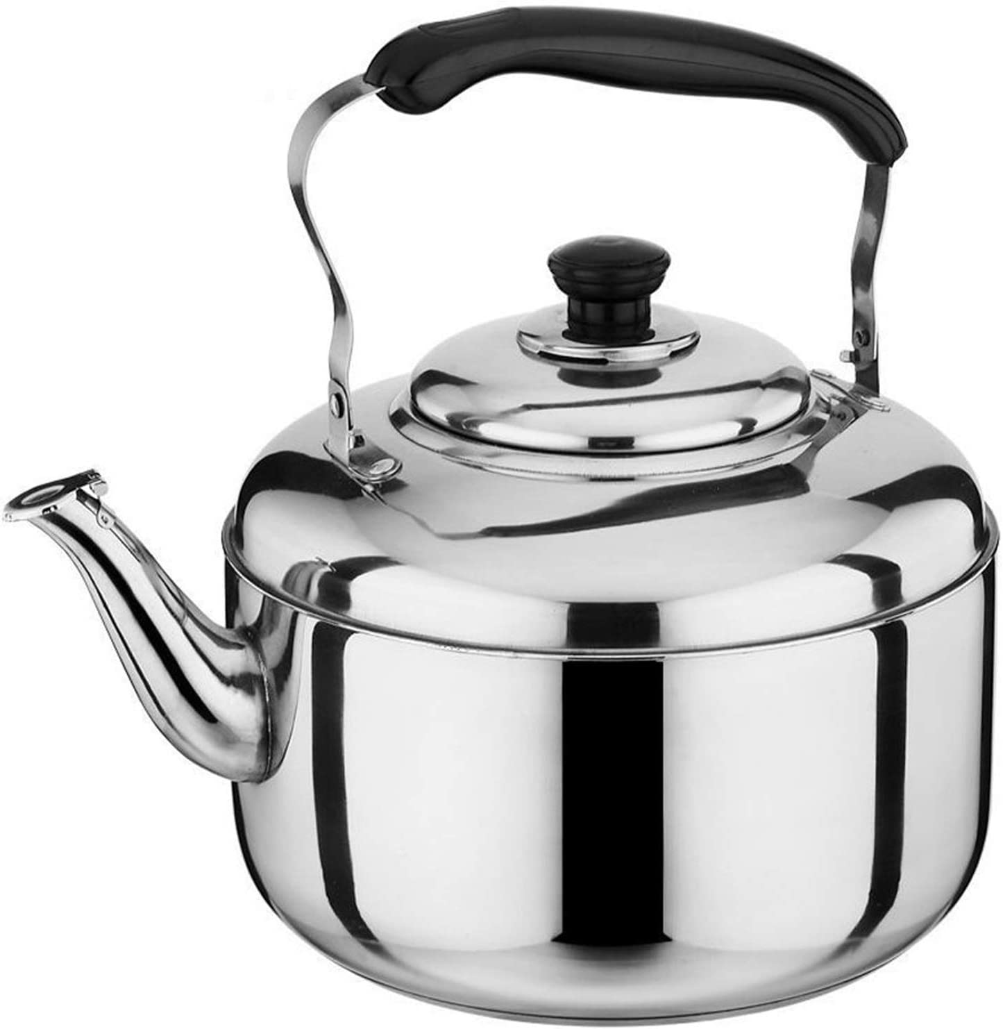 Seamless Tea Kettle for Stove Larg New color Whistling Stainless High order Top Steel