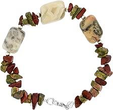 bracelet jaspe leopard