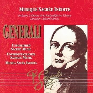 Musica Sacra Inedita: Pietro Generali