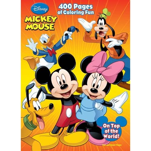 Mickey Mouse Coloring Pages | 360ColoringPages | 500x500