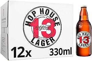Guinness Hop House Birra Lager, Bottiglia - Pacco da 12 x 330 ml