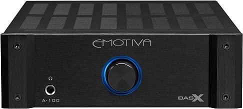Emotiva Audio BasX A-100 Stereo Flex Amplifier