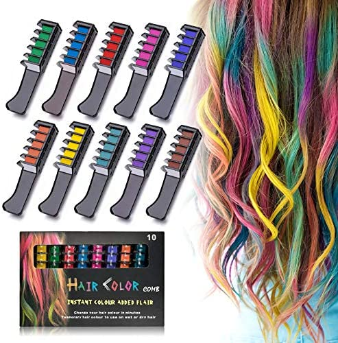 Hair Chalk Set for Girls TALLSOCNE Temporary Washable Hair Dye for Kids Teens Ideal Toys Gifts product image