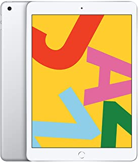 Apple iPad (10.2-inch, Wi-Fi, 32GB) - Silver (Previous Model)