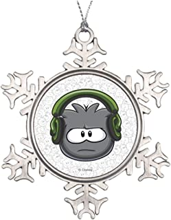 KANCAI Christmas Decoration Snowflake Ornament Dubstep Puffle Special Christmas Club Penguin Home Decor as Housewarming Gift