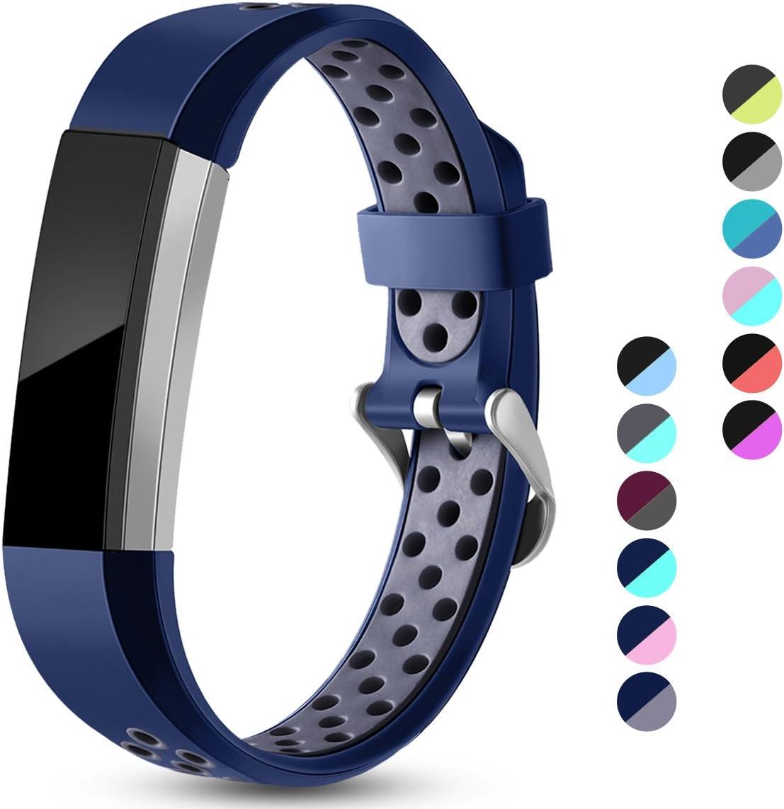 Malllas compatible con fitbit Alta HR / Alta y Ace,. Azul--