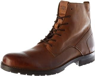 Jack & Jones Jfworca Leather Cognac 19 STS, Chukka Boots Homme