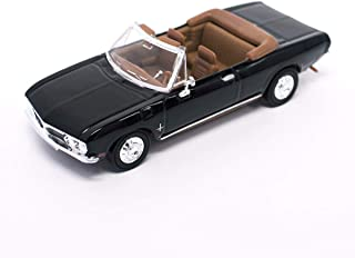 Road Signature 1969 Chevy Corvair Monza Convertible, Black - Lucky 94241BK 1/43 Scale Diecast Model Toy Car