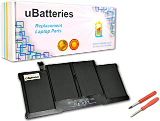 UBatteries Compatible 51Whr Battery Replacement for Apple MacBook Air 13 A1369 A1377 A1405 A1466 A1496 2011 2012 2013 2014 020-8142-A 020-7379-A 020-8143-A 020-8145-A, 6600mAh