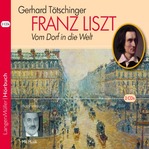 Franz Liszt audiobook cover art