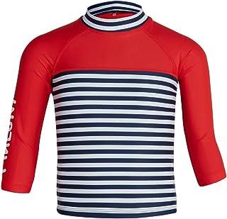 Maluni Kids Rash Vest - UV Protection Rash Guard, Childrens Rash Shirt, Flat Seams, Quick Drying, Stretch Fabric - Ideal f...