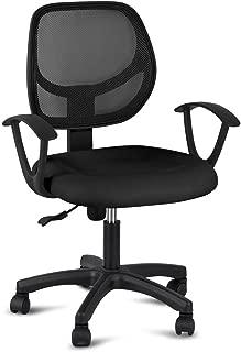 Pro-G Executive Computer Office Chair Nylon Adjustable Swivel Ergonomic Mesh Mid-Back