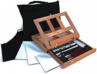 Royal & Langnickel Watercolor Easel Art Set with Easy to Store Bag