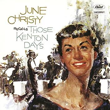 June Christy Recalls Those Kenton Days