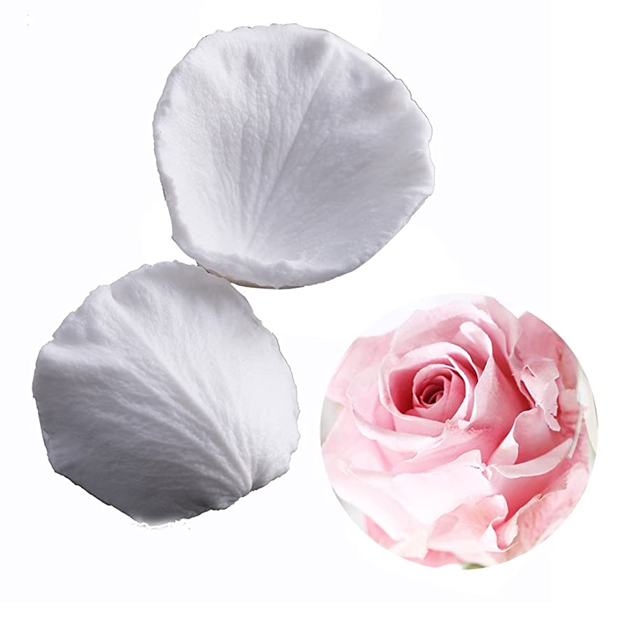 SK Rose Petals Silicone Fondant Mold Sugar Paste Baking Mould Cookie Pastry