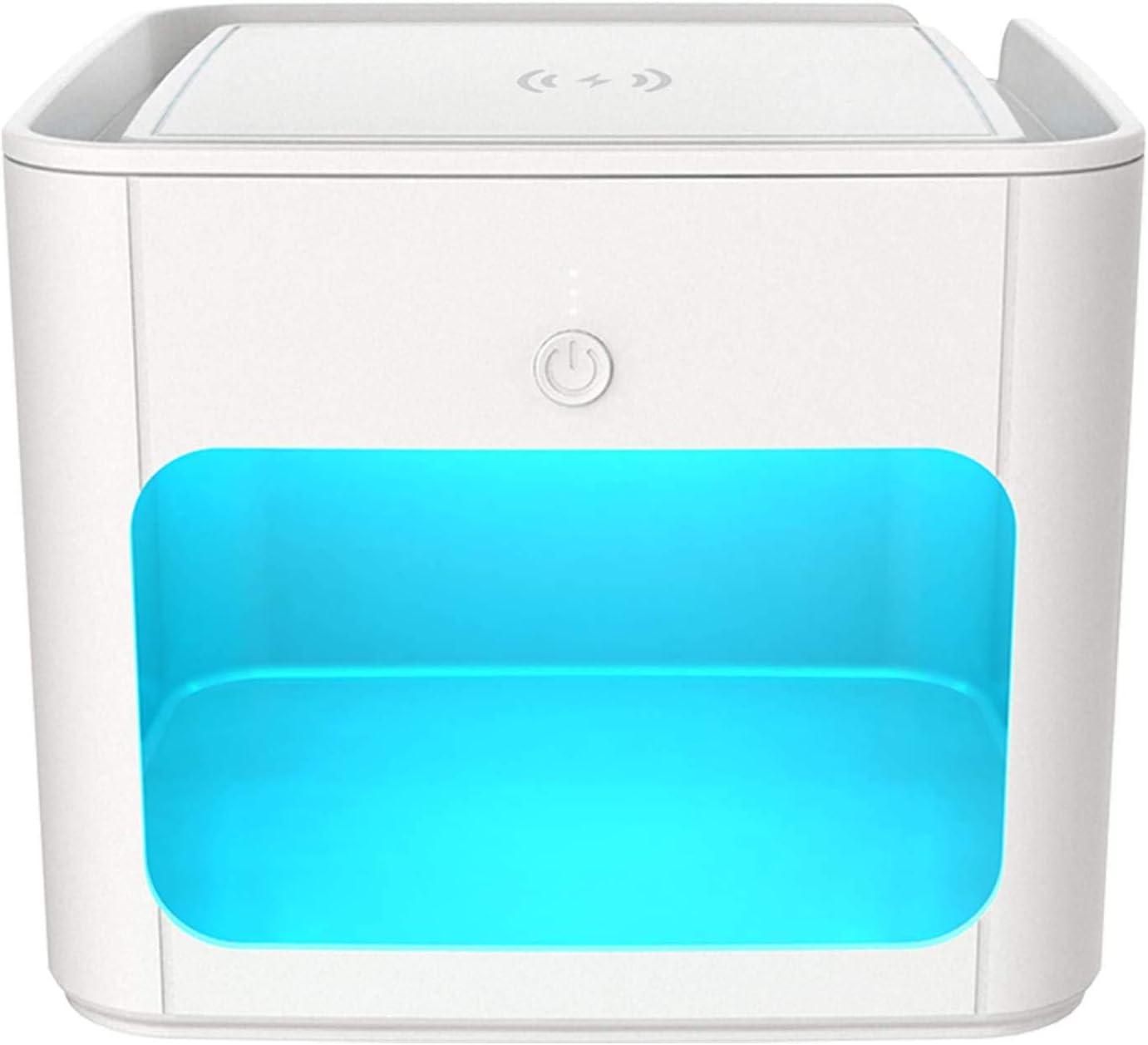 MAXBROTHERS Sterilizer Box,UV Steriliser,Multi-Function UV Light Sterilizer Fast Sterilization 99/% in 5 mins