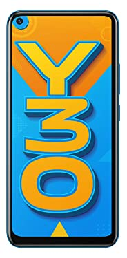 Vivo Y30 (Dazzle Blue, 4GB RAM, 128GB Storage) with No Cost EMI/Additional Exchange Offers