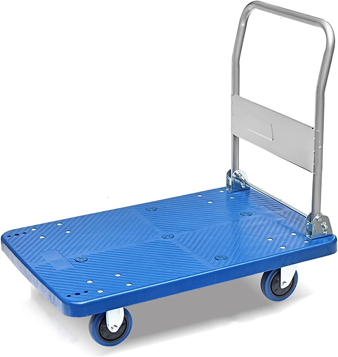 DALIZHAI777 Platform Very popular Cart Hand with Quiet Truck Wheels Weekly update