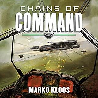 Chains of Command     Frontlines, Book 4              Written by:                                                                                                                                 Marko Kloos                               Narrated by:                                                                                                                                 Luke Daniels                      Length: 11 hrs and 47 mins     11 ratings     Overall 4.7