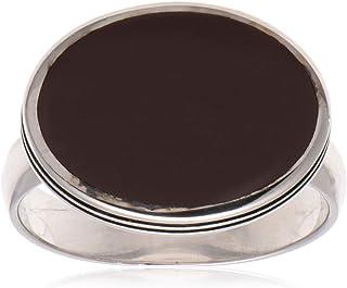 خاتم ملاكي للرجال من الفضة الاسترلينية من عتيق