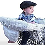 Baby Highchair Travel Seats Cover Toddler Safety Harness Portable Shopping Cart Cover,Stripe