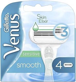 Gillette Venus Sensitive Glad Navulmesjes 4 Scheermesjes