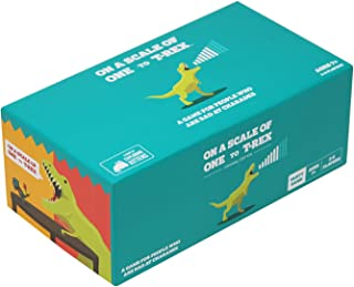 On a Scale of One to T-Rex by Exploding Kittens: A Card Game for People Who Are Bad at Charades - Amazon Exclusive Card Games For Adults, Teens & Kids