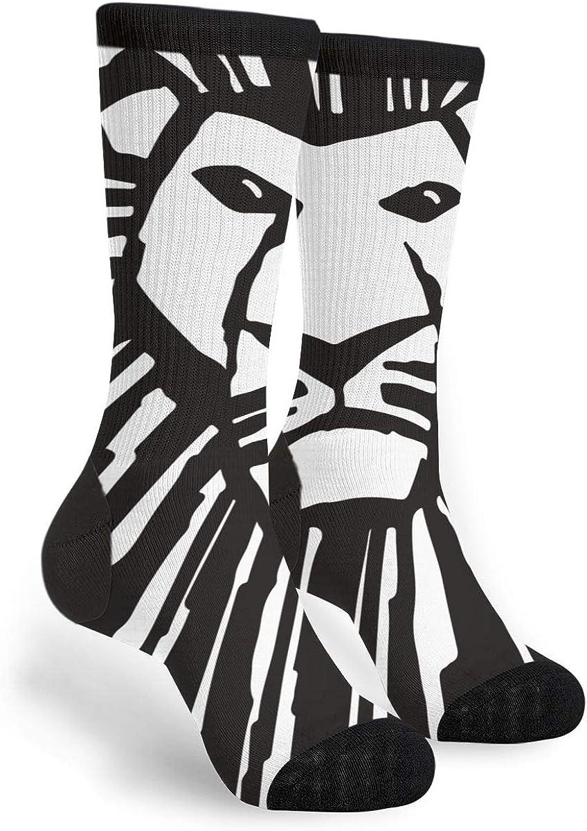 Women's Philadelphia Popular standard Mall Men's Fun Novelty Crazy Crew The Dres Socks Of Lion King
