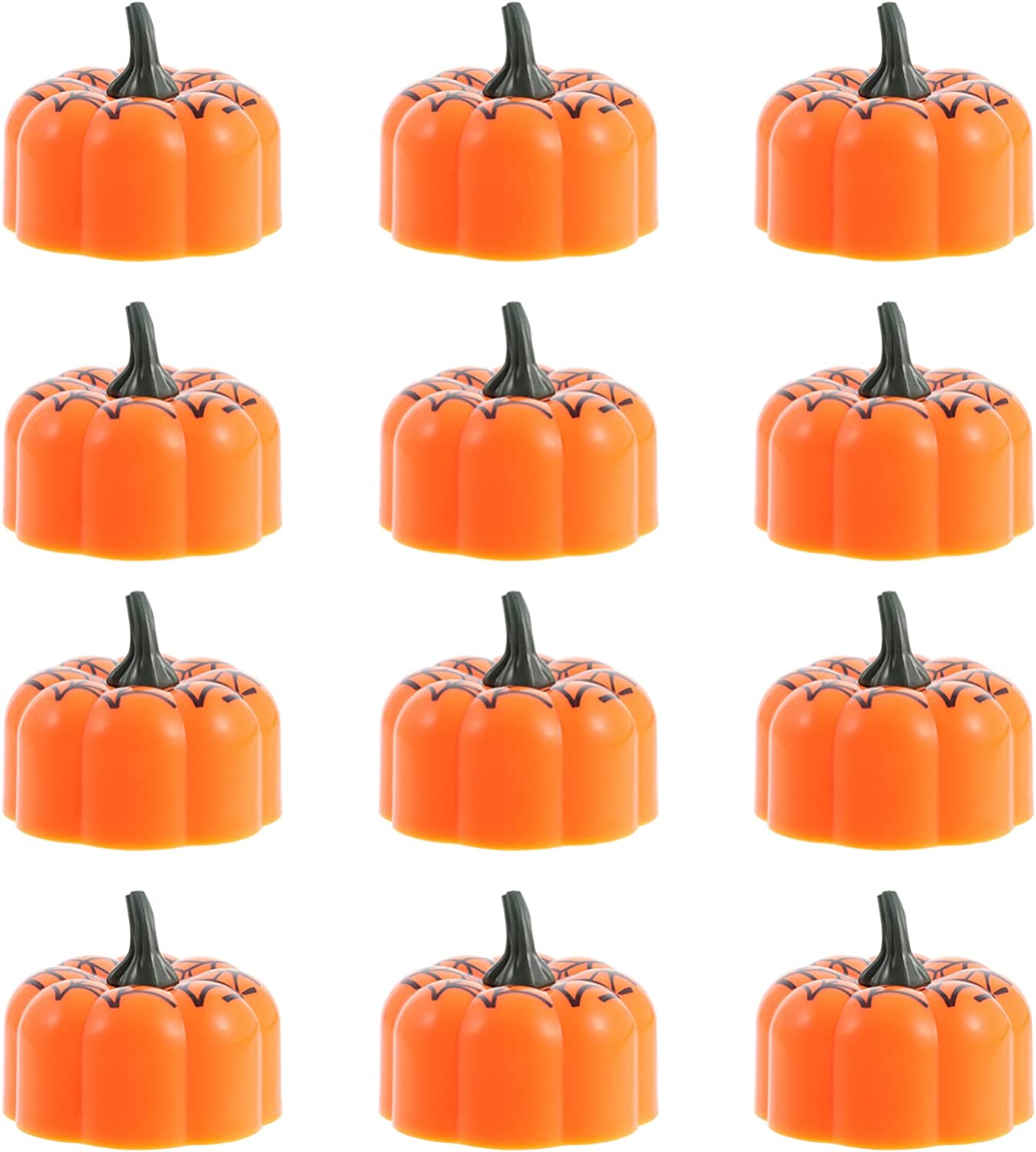 IMIKEYA 12pcs Simulated Candle Decorative Recommendation Party Halloween Lamps All items free shipping