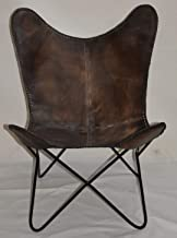 Butterfly B&W Chair Leather (Leather)