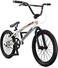 Mongoose Title Elite Pro BMX Race Bike with 20-Inch Wheels in Black for Advanced Riders, Featuring Professional-Grade 6061 Tectonic T1 Biaxial Hydroformed and Butted Aluminum Frame
