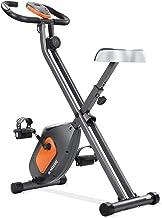 MaxKare Exercise Bike Stationary Folding Magnetic Exercise Bike Machine Magnetic with Adjustable Resistance Pulse LCD Moni...