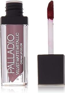 Palladio Velvet Matte Metallic Cream Lip Color - Lavish