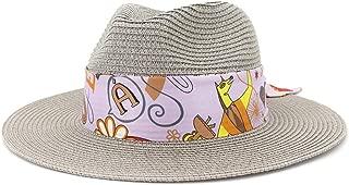 Sun Hat for men and women Fashion Summer Women Straw Sun Hat Wide Brim Outdoor UV Beach Hat Fedora Hat Lady Hat