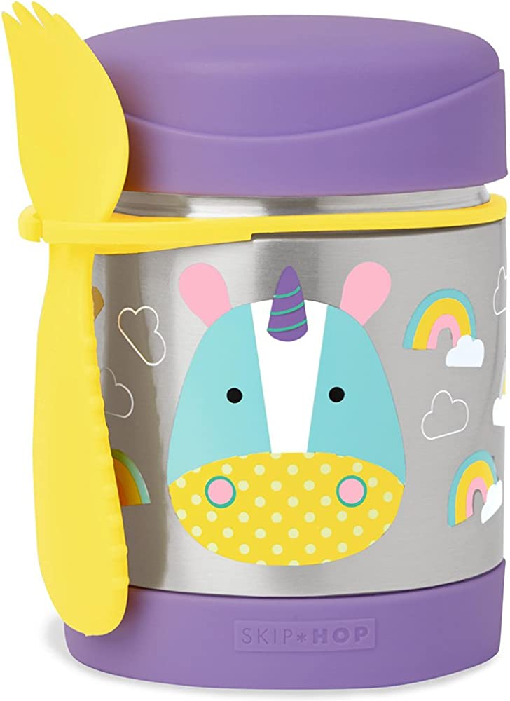 Skip Hop Food Jar, Unicorn