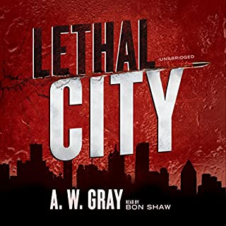 Lethal City audiobook cover art