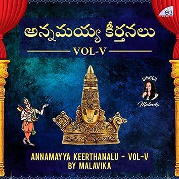 Annamayya Sankeerthanalu, Vol. V