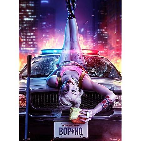 A5 A4 A3 A2 A1 A0 Birds Of Prey Film Poster Print Harley Quinn Joker Batman