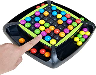 AOLIGE Puzzle Magic Chess Board Games for Kids 4-12 Rainbow Preschool Activities Color Sorting Toys Set