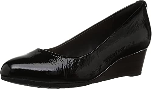 Damen Vendra Bloom, schwarz Patent Leather, 35.5 EU